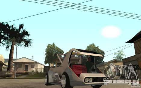 Lil Redd Wrecker для GTA San Andreas вид сзади