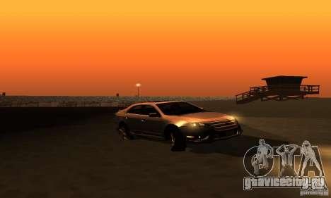 Ford Fusion Sport для GTA San Andreas вид справа