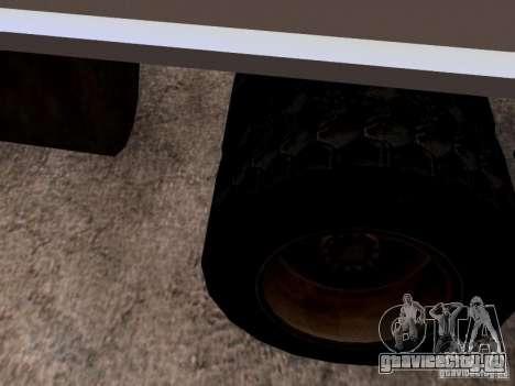 ЗиЛ 131 для GTA San Andreas вид сверху