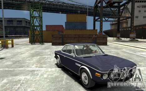 BMW 3.0 CSL E9 1971 для GTA 4 вид сзади