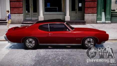 Pontiac GTO 1965 v1.1 для GTA 4 вид изнутри