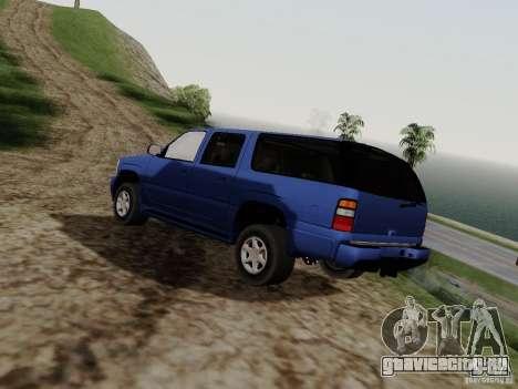 GMC Yukon Denali XL для GTA San Andreas вид слева