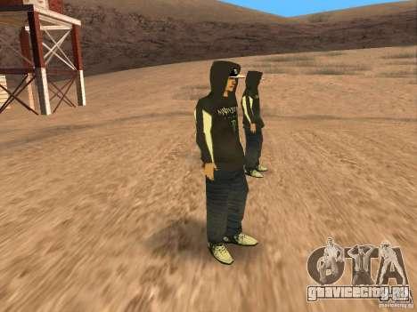 Ken Block Family для GTA San Andreas четвёртый скриншот