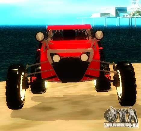Buggy V8 4x4 для GTA San Andreas вид справа