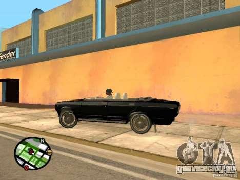 Ваз 2105 Кабриолет v1.3 для GTA San Andreas вид сзади слева