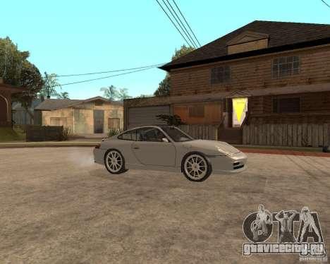 Porsche 911 TARGA для GTA San Andreas вид сзади