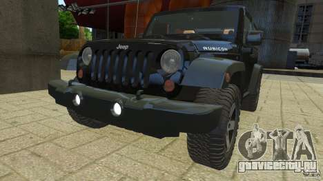 Jeep Wrangler Rubicon 2012 для GTA 4 вид справа