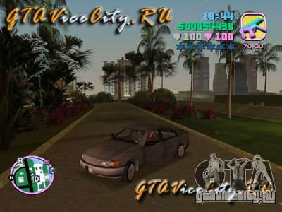 Opel Omega из GTA 3 для GTA Vice City