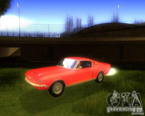 Shelby GT500KR 1968 для GTA San Andreas