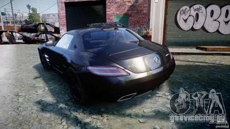 Mercedes-Benz SLS AMG 2010 [EPM] для GTA 4 вид справа