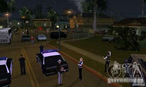 Проект Х на Grove Street для GTA San Andreas второй скриншот