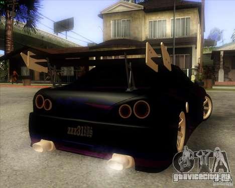Elegy 0.2 для GTA San Andreas вид сзади
