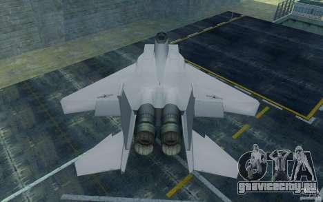 F-15 для GTA San Andreas вид справа