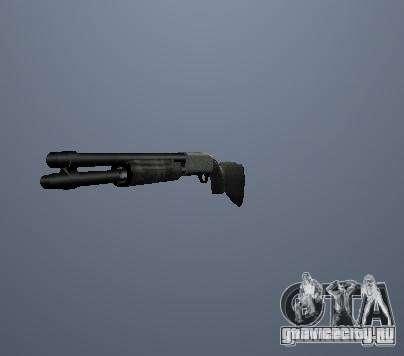 Пак высоко полигонального оружия для GTA San Andreas третий скриншот