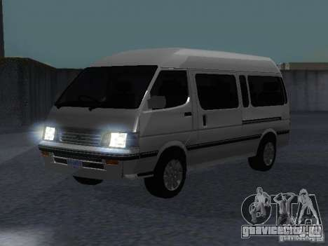 Toyota Hiace Super Custom для GTA San Andreas