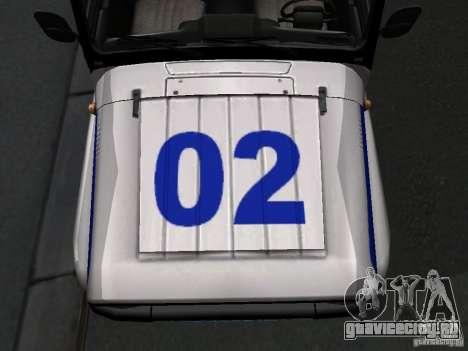 УАЗ 315195 Хантер Полиция для GTA San Andreas вид изнутри