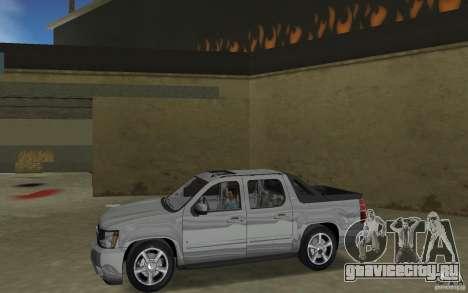Chevrolet Avalanche 2007 для GTA Vice City вид слева