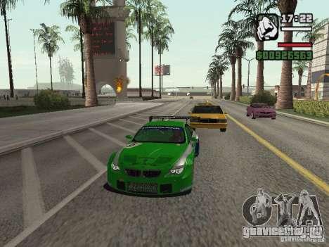 Alpina B6 GT3 для GTA San Andreas вид сзади слева
