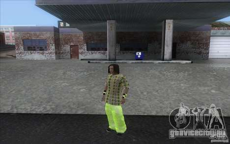 Rasta ped для GTA San Andreas третий скриншот