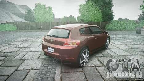 Volkswagen Scirocco 2.0 TSI для GTA 4 вид сбоку