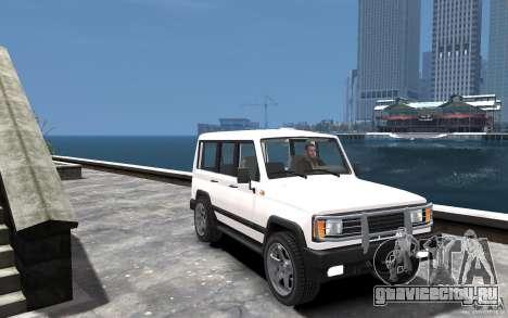 УАЗ 3170 для GTA 4 вид сзади