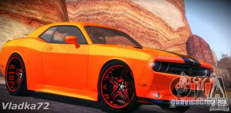 Dodge Quinton Rampage Jackson Challenger SRT8 v1 для GTA San Andreas