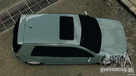 Volkswagen Golf Sportline 2011 для GTA 4 вид справа
