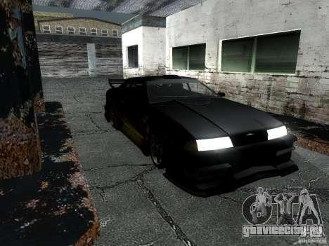 Винил Барона из Most Wanted для GTA San Andreas вид сзади слева