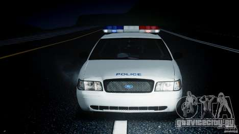 Ford Crown Victoria CVPI-V4.4M [ELS] для GTA 4 вид сбоку