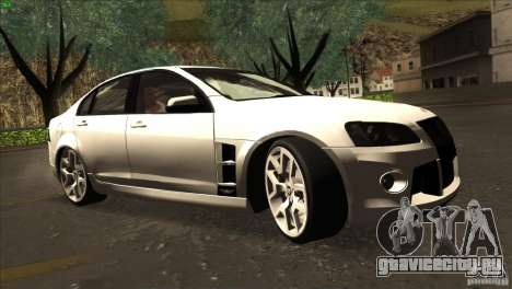 Holden HSV W427 для GTA San Andreas вид сзади