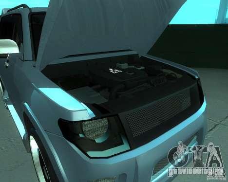 Mitsubishi Pajero STR I для GTA San Andreas вид сзади слева