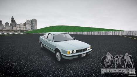 BMW 535i E34 для GTA 4 вид справа