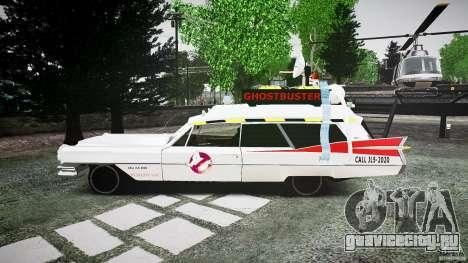 Cadillac Ghostbusters для GTA 4 вид слева