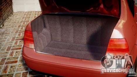 Volkswagen Bora для GTA 4 вид сбоку