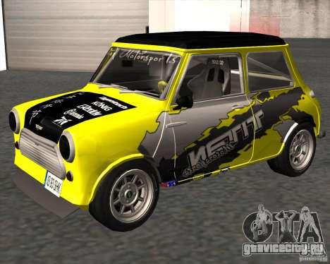 Mini Cooper S Titan Motorsports для GTA San Andreas