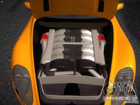 Aston Martin DBS для GTA San Andreas вид справа