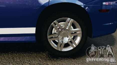 Dodge Charger Unmarked Police 2012 [ELS] для GTA 4 вид сверху