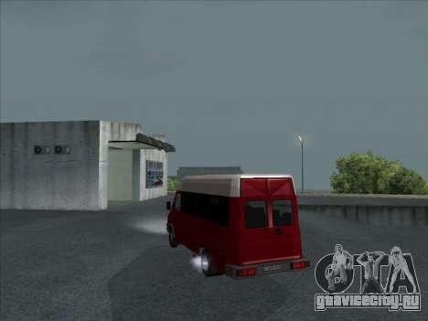 Iveco TurboDaily 35-10 для GTA San Andreas вид сзади слева