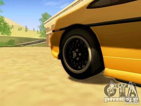 Pontiac Fiero V8 для GTA San Andreas вид справа