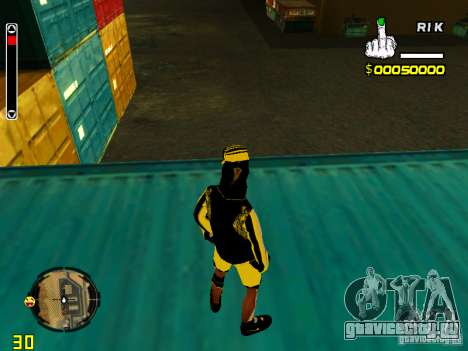 Skin бомжа v3 для GTA San Andreas четвёртый скриншот