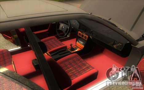 Mercedes-Benz 190E W201 для GTA San Andreas вид сбоку