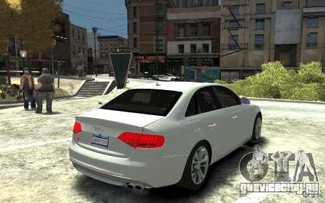 Audi S4 2010 v.1.0 для GTA 4 вид справа