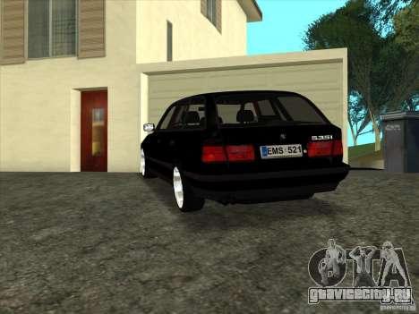 BMW E34 535i Touring для GTA San Andreas вид слева