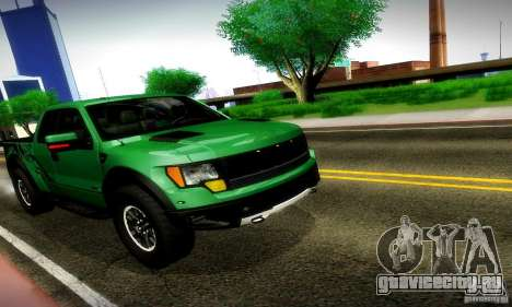 Ford F-150 SVT Raptor V1.0 для GTA San Andreas вид слева