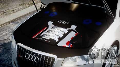 Audi S8 D3 2009 для GTA 4 вид справа