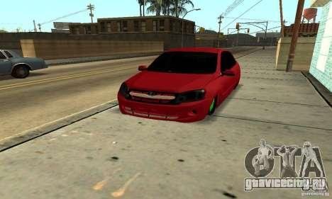 Lada Granta Dag Style для GTA San Andreas вид сзади