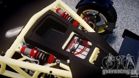 Ariel Atom 3 V8 2012 для GTA 4 вид сзади
