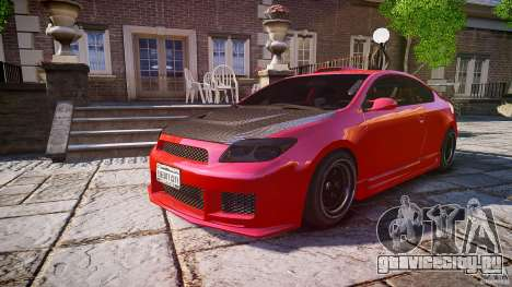 Toyota Scion TC 2.4 Tuning Edition для GTA 4 двигатель