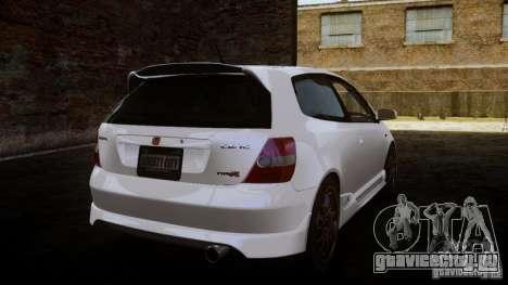 Honda Civic Type-R (EP3) для GTA 4 вид слева
