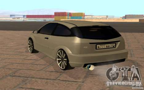 Ford Focus Light Tuning для GTA San Andreas вид справа
